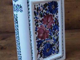 Könyvbutélia - színes virágos 31004